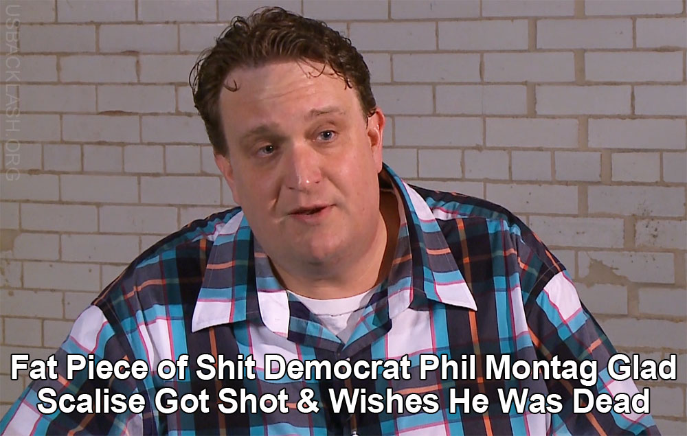Piece of Shit Nebraska Democrat Party Official Phil Montag Removed After Wishing Rep Scalise Was Dead