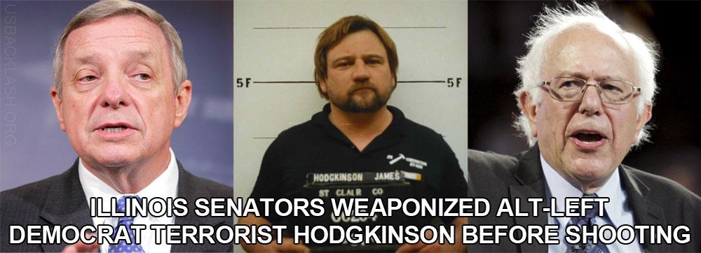 Investigation Needed To Probe Contact Between Alt-Left Democrat Terrorist Hodgkinson & Senators