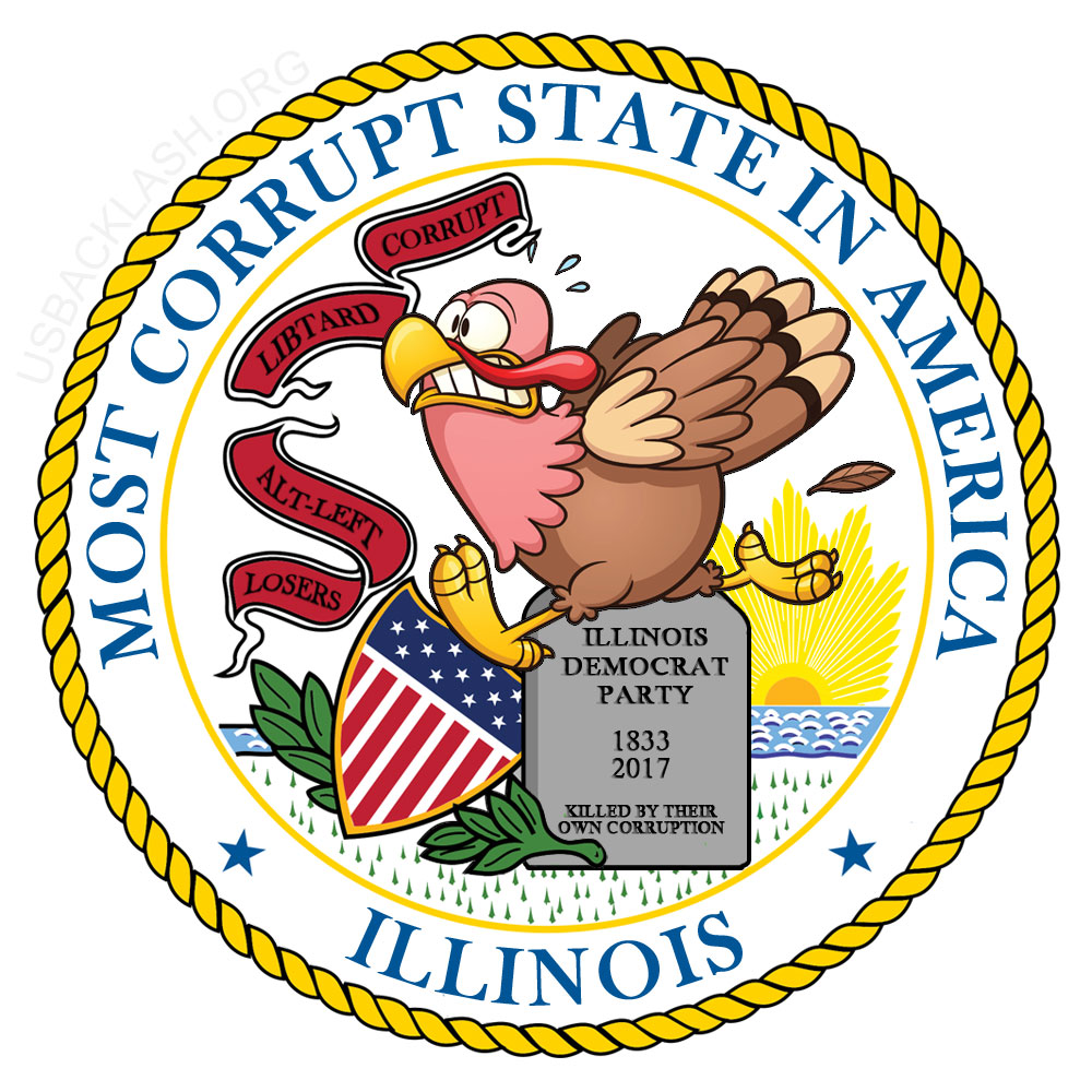 Corrupt Democrat-Run Illinois May Be First Bankrupt State With $15 Billion In Unpaid Bills