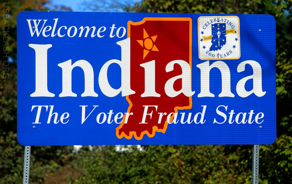 VOTER FRAUD IS REAL: 12 Corrupt Indiana Democrats Charged With Falsifying Voter Registrations