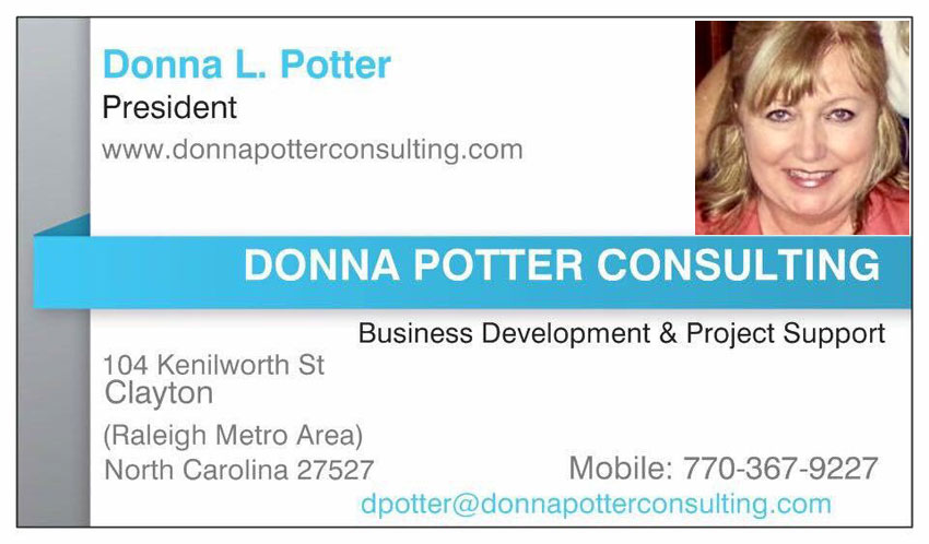 Boycott NC Donna Potter Consulting