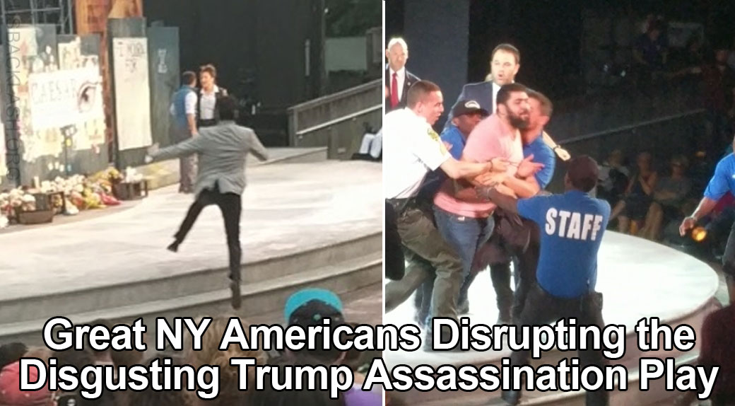 More Great Americans In New York Needed to Disrupt Disgusting Trump Assassination Snuff Play