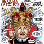 loser-queen-hillary-excuses-run-crazy-cartoon