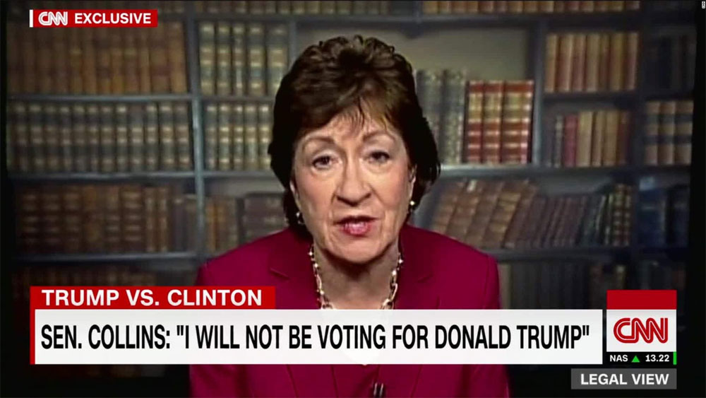 Fake Conservative Cuntbag Senator Susan Collins Plans to Fully Fund Planned Parenthood Baby Murderers