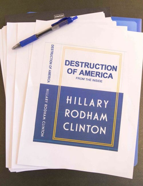 Hillary-Clinton-Book-Spoof-Destroying-America-From-Inside