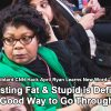 "Disgusting Fat & Stupid Libtard CNN Reporter April Ryan Doesn't Know ""Stagflation"" Is Real Word"