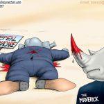 piece-of-shit-closet-libtard-asshole-john-mccain-stabs-republicans-back-cartoon