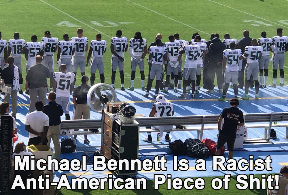 Racist Seattle Seahawks Defensive End Michael Bennett May Have Made Up 'Excessive Force' Story Against Las Vegas Police