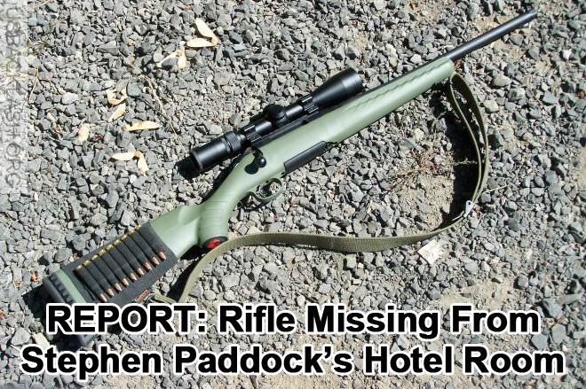 Suspected Vegas Shooter Stephen Paddock Was Not Alone - Rifle Missing From Crime Scene
