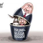 corrupt-clinton-dnc-trump-russian-dossier-cartoon