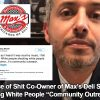Piece of Shit Co-Owner of Highland IL Max's Deli Greg Morelli‏ Says Killing White People Isn't Terror But 'Community Outreach'