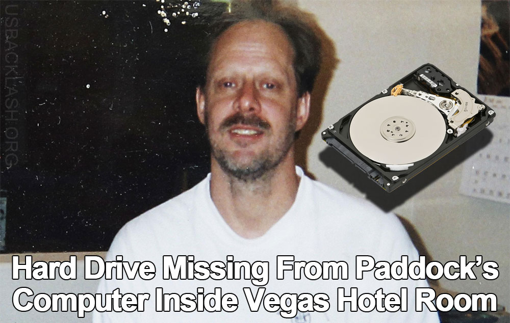 Computer Hard Drive Goes Missing From Suspected Las Vegas Massacre Shooter Paddock's Hotel Room