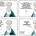 Iran-Threatens-US-Then-Upset-Nuculear-Deal-Not-Certified-cartoon
