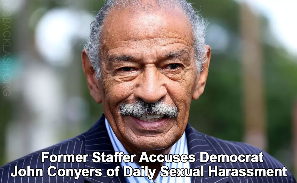 Another Female Former Staffer Accuses Democrat John Conyers of Daily Sexual Harassment