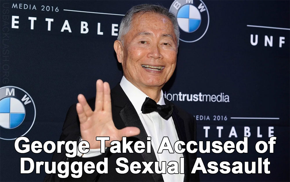 George Takei May Have Drugged & Sexually Assaulted Former Male Model Scott R. Brunton in 1981
