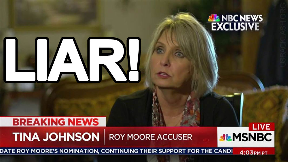 Lying Skank Moore Accuser Tina Johnson Has 'Violent Nature', Guilty of Fraud Charges, Entered Drug Program, Treated By Psychiatrist