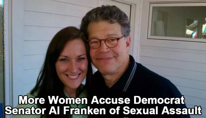 New Accuser Says Democrat Senator Al Franken Sexually Assaulted Her at Minnesota State Fair in 2010
