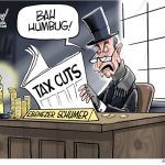 Corrupt-Liar-Ebenezer-Chuck-Scrooge-Schumer-Lies-About-Trump-Tax-Cuts