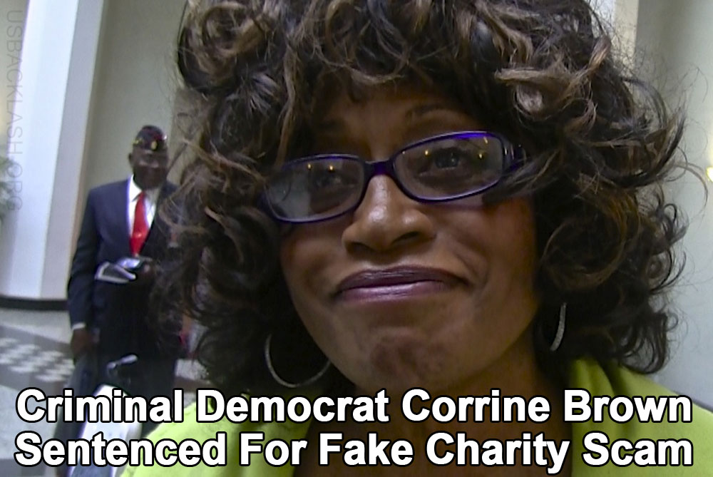 Democrat Criminal Rep. Corrine Brown Convicted & Sentenced to 5 Years in Prison For Fake Charity Scam