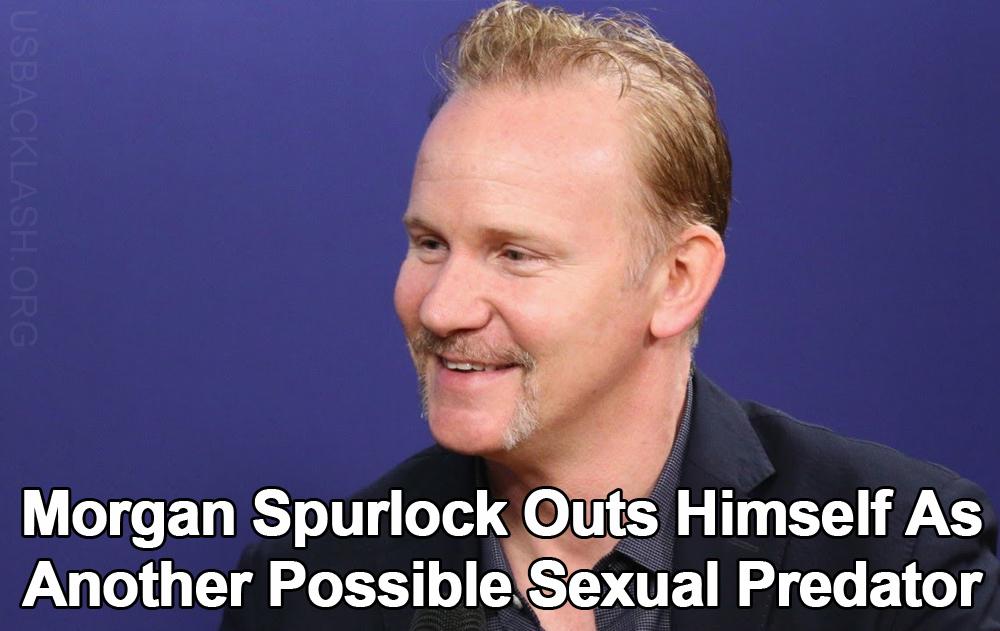 Deviant Libtard Filmmaker Morgan Spurlock Tries Saving Career By Outing Himself As Possible Sexual Predator