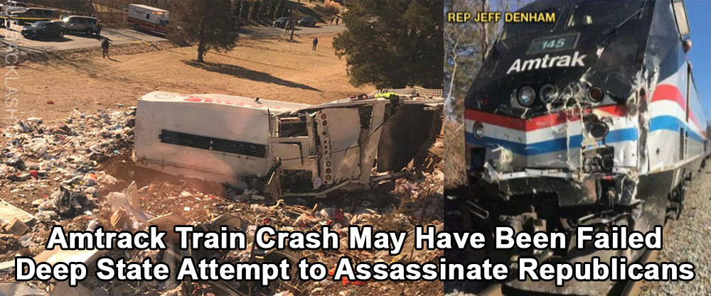 Train Crash Was Probably No Accident - Most Likely Failed Deep State Attempt to Assassinate Republicans