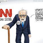 cnn-fake-news-lies-trump-russia-collusion-sham-fake-investigation-cartoon