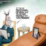 corrupt-democrat-losers-question-president-trump-mental-fitness-cartoon