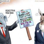 americans-to-revolt-reject-democrats-who-tried-blocking-trump-tax-reform-tax-breaks-cartoon