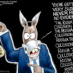 corrupt-media-pushes-laughable-fake-trump-russia-collusion-lie-over-over-over-over-cartoon