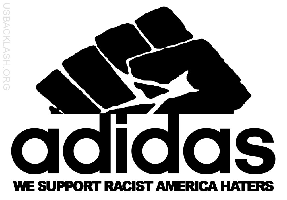 ADIDAS SUPPORTS RACIST AMERICA-HATING ATHLETES