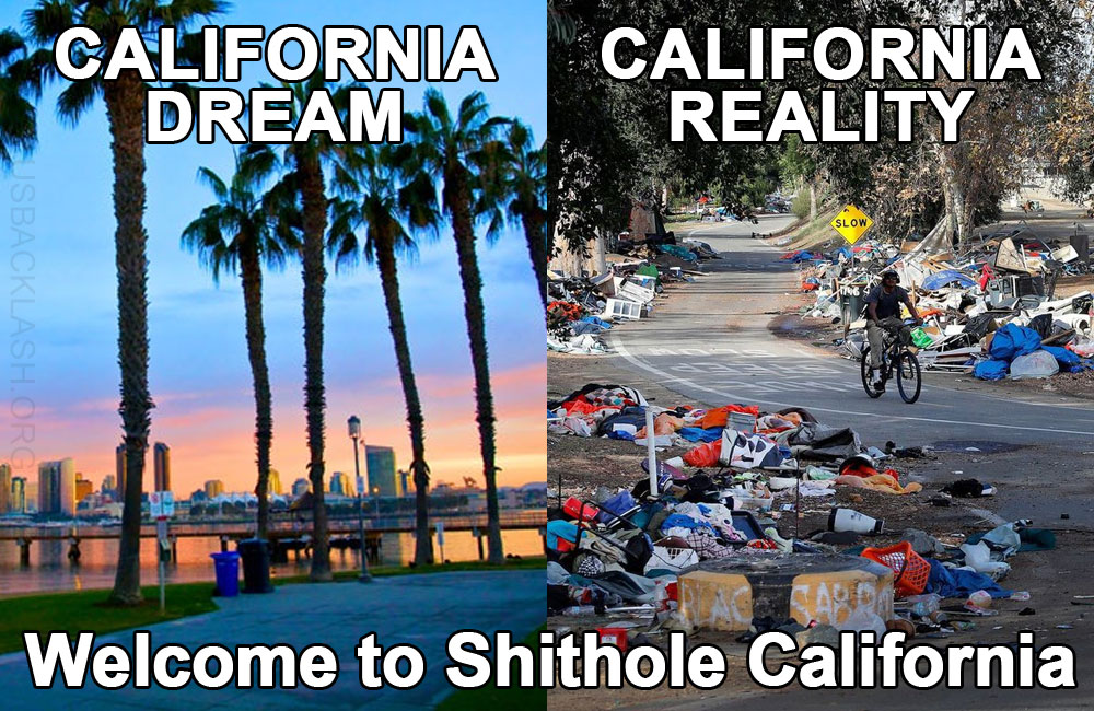 Census Bureau: Residents in Disgusting Shithole California Account For 1/3 of America's Welfare Recipients