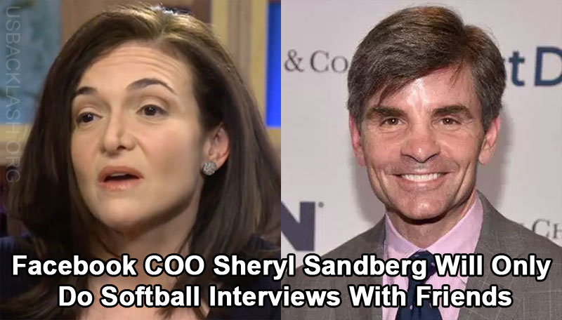 Facebook COO Sheryl Sandberg Pulls Out of Interview After Learning It Wouldn't Be Fixed Softball Interview