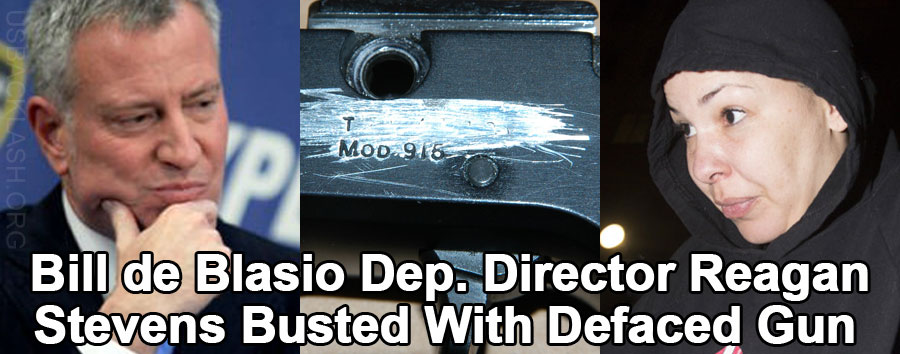 Deputy Director for Anti-Gun Nutjob Deblasio Busted On Multiple Gun Charges Including Possession of Defaced Firearm